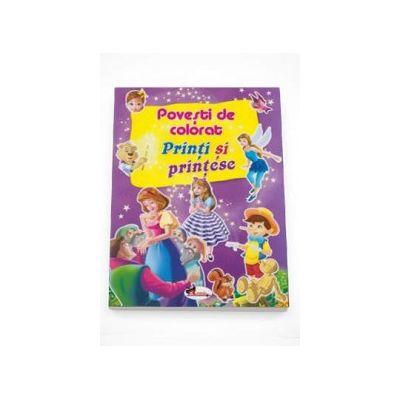 Povesti de colorat - Printi si printese