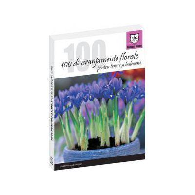 100 de aranjamente florale pentru terase si balcoane