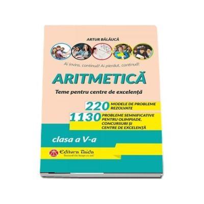 Aritmetica. Clasa a V-a, editia a X-a
