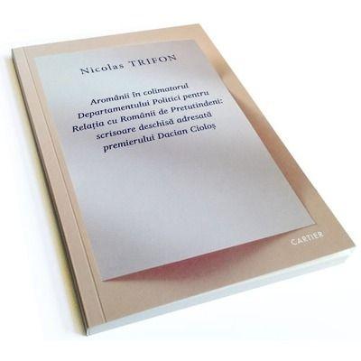 Aromanii in colimatorul Departamentului Politici pentru Relatia cu Romanii de Pretutindeni: scrisoare deschisa adresata  premierului Dacian Ciolos