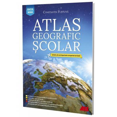 Atlas geografic scolar. Editia 2020