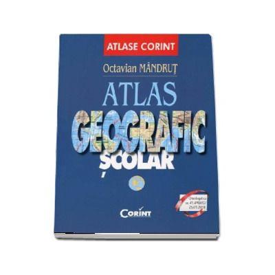 Atlas geografic scolar. Editie revizuita si actualizata (Octavian Mandrut)