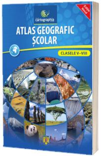 Atlas geografic scolar pentru clasele V-VIII