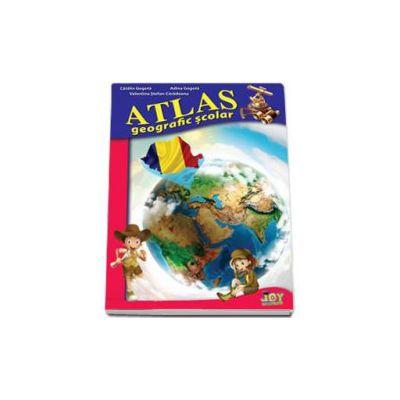 Atlas Geografic Scolar - Valentina Stefan Caradeanu