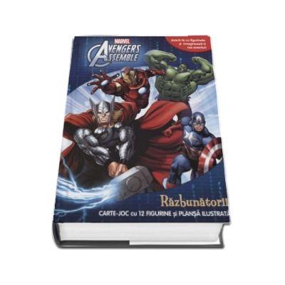 Avengers assemble. Razbunatorii. Carte joc cu 12 figurine si plansa ilustrata (Joaca-te cu figurinele si imagineaza-ti noi aventuri)