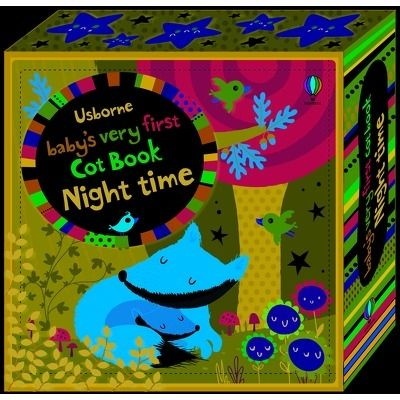 Babys very first cot book: Night time