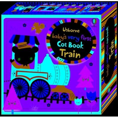 Babys very first cot book: Train