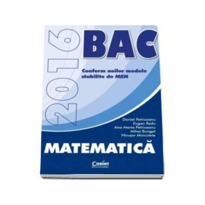 Bacalaureat 2016, Matematica - Petriceanu Daniel