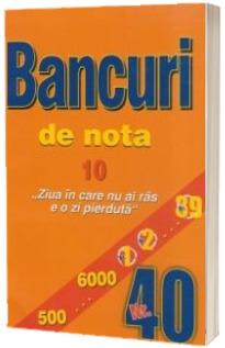 Bancuri de nota zece. Numarul 40