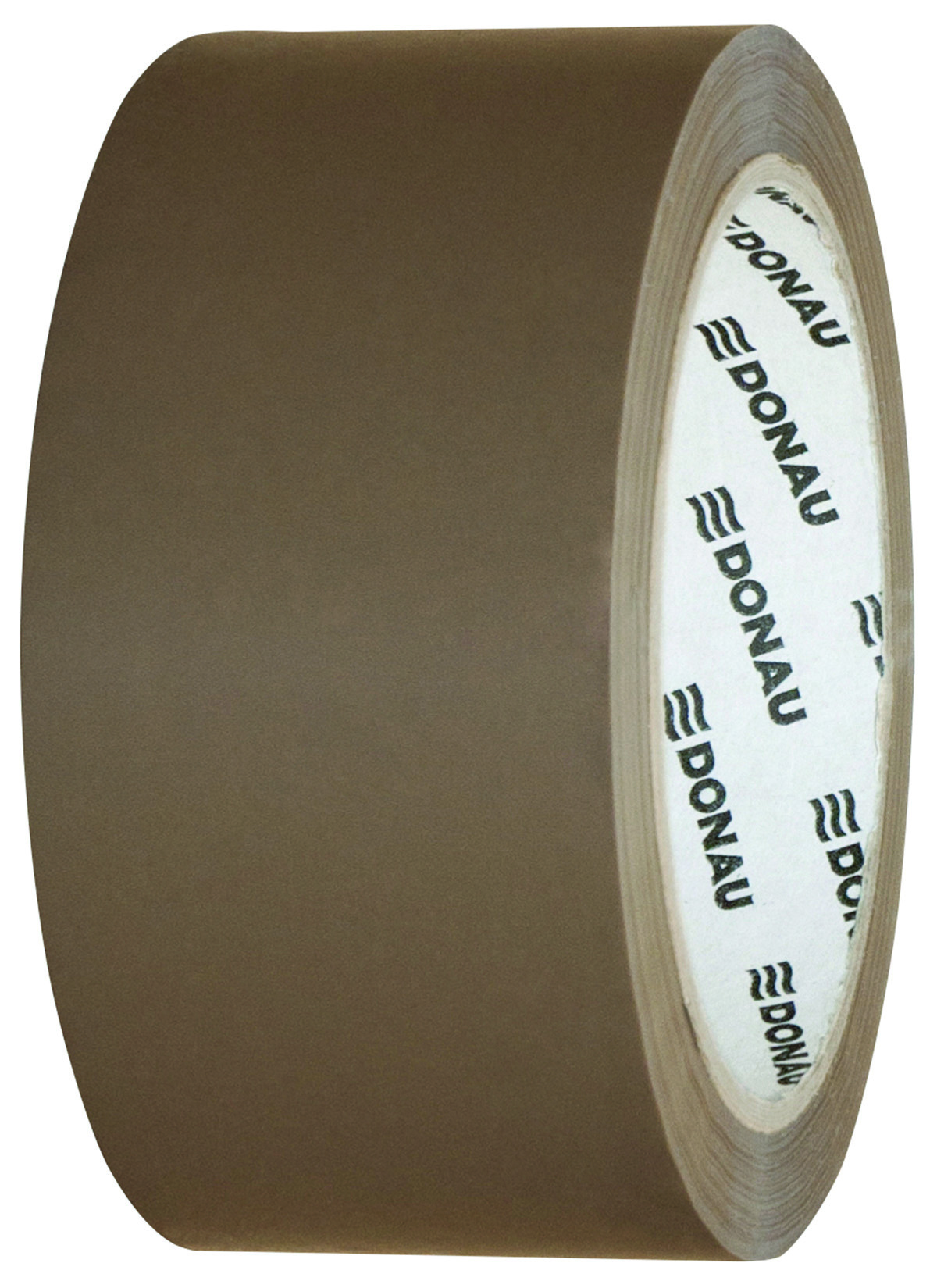 Banda adeziva, maro, 48mm x 66 m, 46 microni, pe baza de solvent, Donau