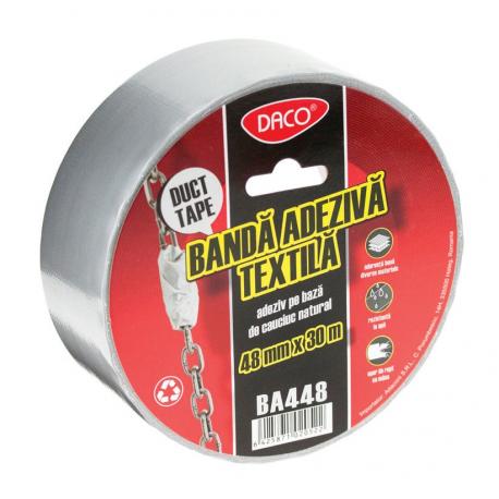 Banda adeziva textila duct tape 48/30 Daco