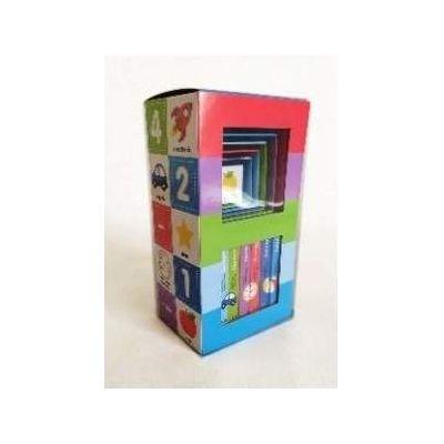 Bebeteca: primele carti. Bebe invata. Set educativ 6 carti + 6 cuburi