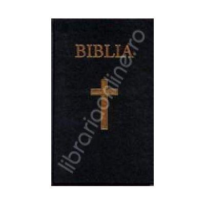 Biblia cu coperta cartonata pe culoarea grena (50832)