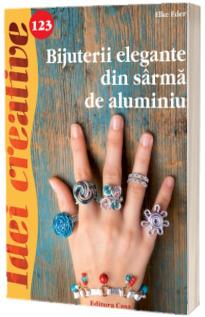 Bijuterii elegante din sarma de aluminiu - Idei creative 123