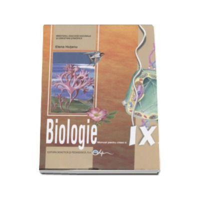 Biologie, manual pentru clasa a IX-a (Elena Hutanu)