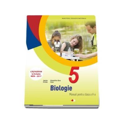 Biologie, manual pentru clasa a V-a. Contine si editia digitala (Jeanina Cirstoiu)