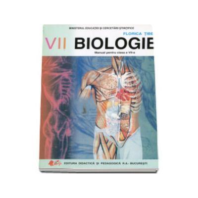 Biologie, manual pentru clasa a VII-a (Florica Tibea)