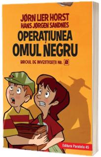 Biroul de investigatii nr. 2. Operatiunea Omul Negru. Editie cartonata