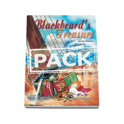 Blackbeards Treasure Book with Activity Book and Audio CD
