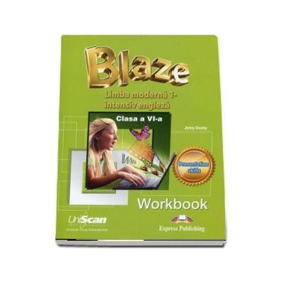 Blaze. Limba moderna 1, intensiv engleza. Clasa a VI-a, Workbook