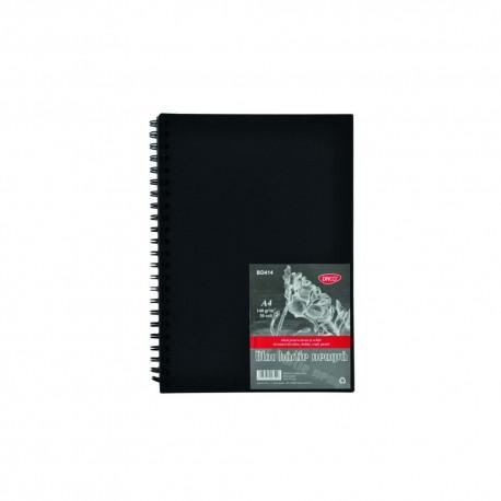 Bloc A4 hartie neagra 140g 30 file Daco BD414