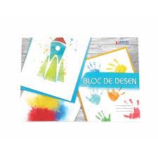 Bloc desen A4, 16 file policromie, Arhi Design