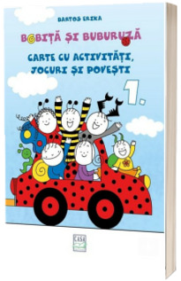 Bobita si Buburuza - Carte cu activitati, jocuri si povesti nr. 1