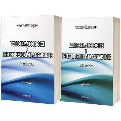 Boli dermatologice si infectii sexual-transmisibile. Set 2 volume