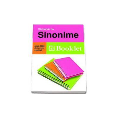 Dictionar de sinonime - Peste 3000 de termeni explicati