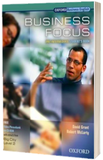 Business Focus Pre-intermediate: Students Book with CD-ROM Pack