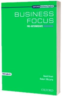 Business Focus Pre-Intermediate Workbook and CD Pack