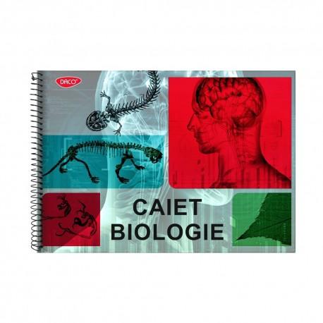 Caiet biologie A4 24 spira Daco