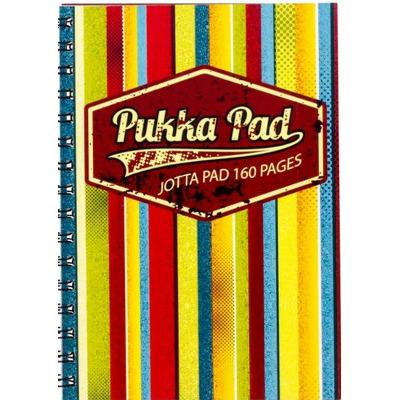 Caiet cu spirala Pukka Pads Jotta Americano A5 matematica, galben si mov (mix)