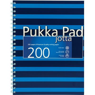 Caiet cu spirala Pukka Pads Jotta Navy A4 dictando albastru