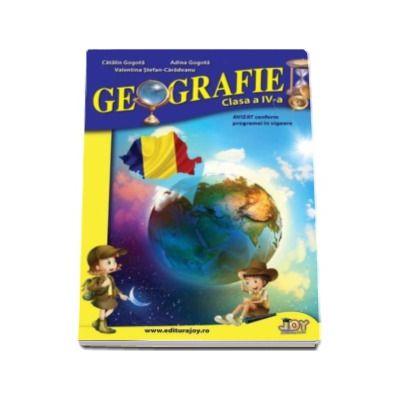 Caiet de Geografie pentru clasa a IV-a - Valentina Stefanescu Caradeanu