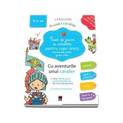 Caiet de jocuri si activitati pentru copii isteti, pentru grupa mare 5-6 ani
