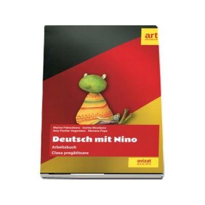 Caiet de limba germana pentru clasa pregatitoare. Deutsch mit Nino
