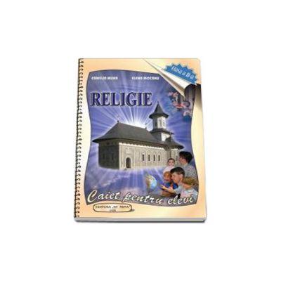 Caiet de religie, pentru clasa a II-a