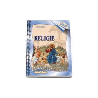 Caiet de religie, pentru clasa I
