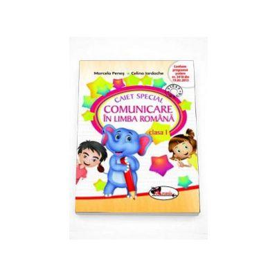 Caiet special de comunicare in limba romana pentru clasa I (Elefantel) - Editie in conformitate cu programa scolara