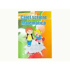 Caiet special de scriere, 24 file, matematica, Arhi Design