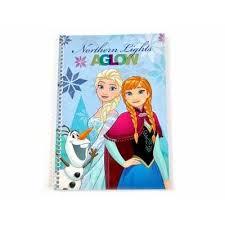 Caiet spira, 64 de file, Anna si Elsa Frozen, Disney