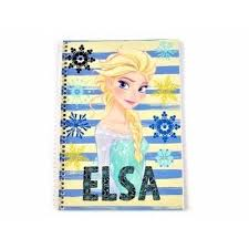 Caiet spira, 64 de file, Elsa Frozen, Disney