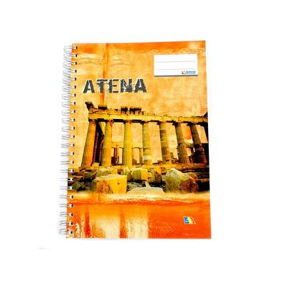 Caiet spira A4, 200 file, Matematica