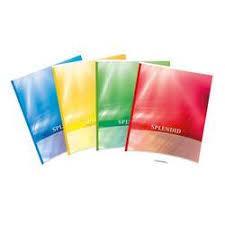 Caiet Splendid dictando A4, 60 file, liniat stanga, coperta carton color laminat, Aurora