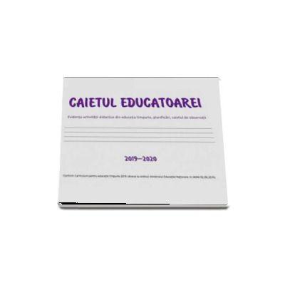 Caietul educatoarei. Dupa programa 2019