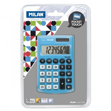 Calculator 8 DG MILAN 150908BBL albastru
