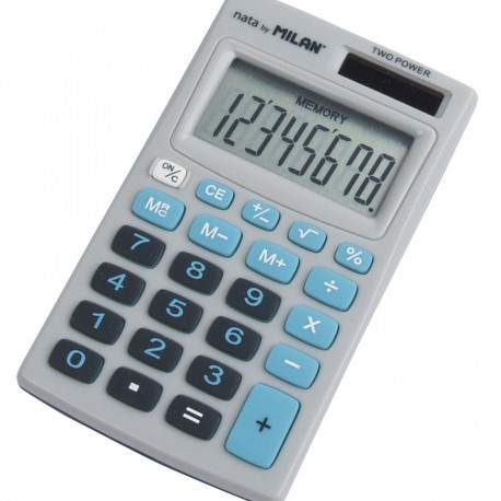Calculator 8 DG MILAN 208BBL albastru