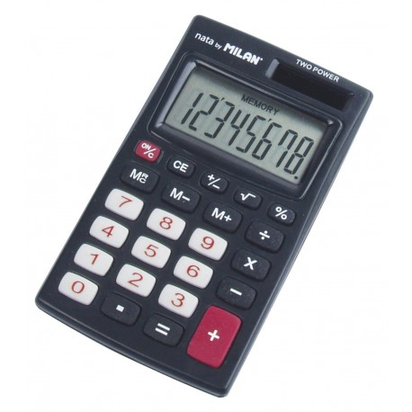 Calculator 8 DG MILAN 208KBL negru