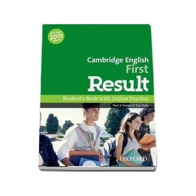 Cambridge English. First Result. Student s Book with Online Practice (For the 2015 exam)